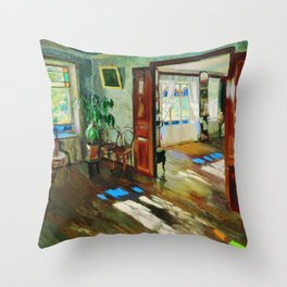 Every Writer Needs a Room by Sergei Vinogradov Throw Pillow