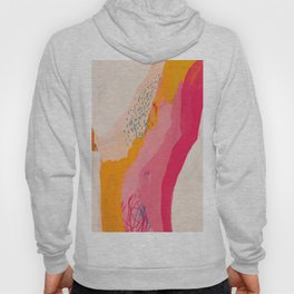 Abstract Line Shades Hoody