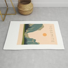 Yosemite Valley Rug