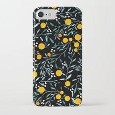 Oranges Black iPhone 7 Slim Case