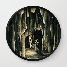 The Walk of Time Wall Clock