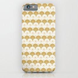 Beautiful Pattern #4 Golden Chrysanthemum iPhone Case