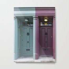 The twins London doors Metal Print