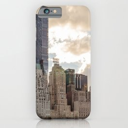 Manhattan View from Central Park iPhone Case