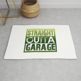 STRAIGHT OUTTA GARAGE Rug
