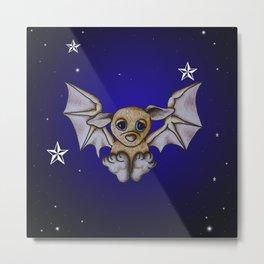 Bubba Bat Metal Print