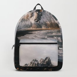 Stokksnes Icelandic Mountain Beach Sunset - Landscape Photography Backpack