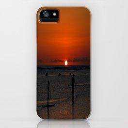 sunset beauty iPhone Case