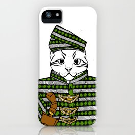 Malayan Kitty in Colour iPhone Case