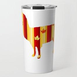 Autumn Lama Travel Mug