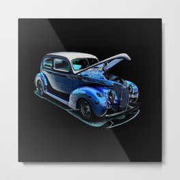 1939 Ford Coupe By Annie Zeno Metal Print