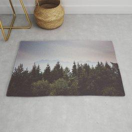 Mountain Range - Landscape Photography Rug