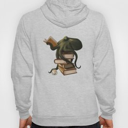 Well-Read Octopus Hoodie