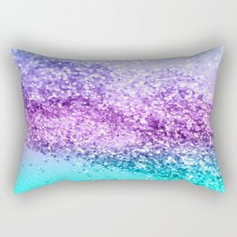 Unicorn Girls Glitter #14 #shiny #decor #art #society6 Rectangular Pillow