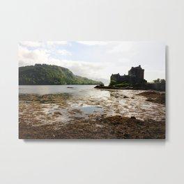 Beautiful scenery in the Eilean Donan Castle, Scotland Metal Print