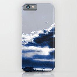 arctic blue landscape iPhone Case