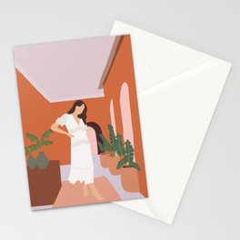 Female illustration I Stationery Cards