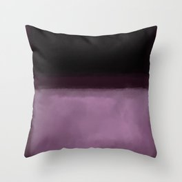 Rothko Inspired #2 Throw Pillow