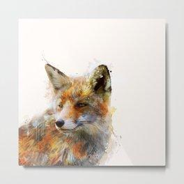 The cunning Fox Metal Print