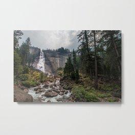 Nevada Falls - Yosemite National Park Metal Print
