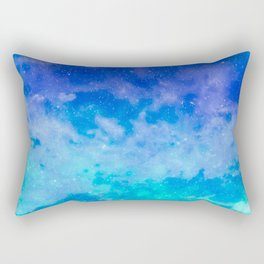 Sweet Blue Dreams Rectangular Pillow