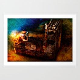 Ex Libris - A Book Lover's Dream Art Print