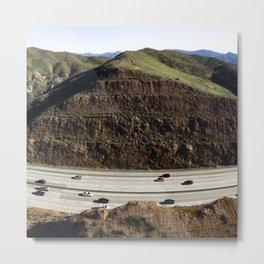 Man Verses Nature Metal Print