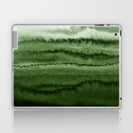 WITHIN THE TIDES FOREST GREEN by Monika Strigel Laptop & iPad Skin