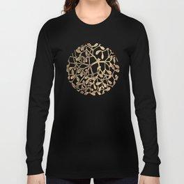 Mistletoe Black Long Sleeve T-shirt