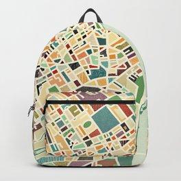 CITY OF LONDON MAP ART 01 Backpack