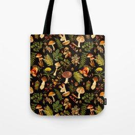 Vintage & Shabby Chic - Autumn Harvest Black Tote Bag
