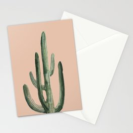 pink cactus I  Stationery Cards