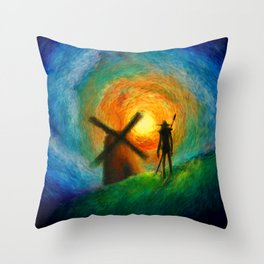 EL QUIJOTE Throw Pillow
