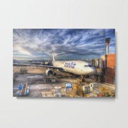 Iran Air Airbus A330-200 Metal Print