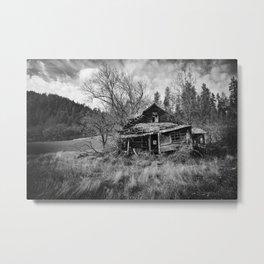 Abandoned House in Oregon Metal Print