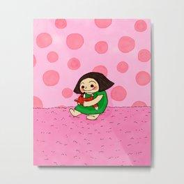 Pink Mood Metal Print