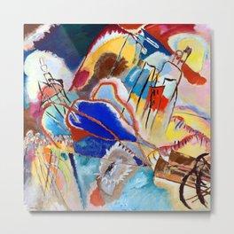 Wassily Kandinsky Improvisation XXX Metal Print