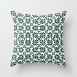 Green Gables Throw Pillow