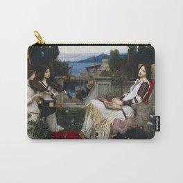 John William Waterhouse - Saint Cecilia Carry-All Pouch