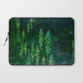 Claude Monet Impressionist Landscape Oil Painting Waterlilies Laptop Sleeve