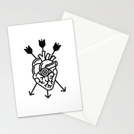 DEAD HEART Stationery Cards