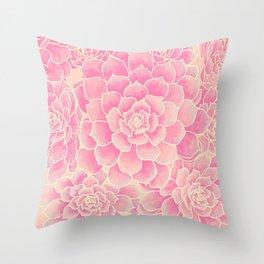 Antique Botanicals Throw Pillow