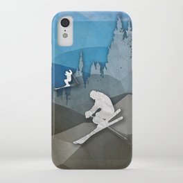 The Skiers iPhone Case