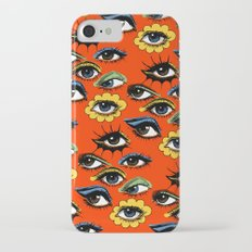 60s Eye Pattern iPhone 7 Slim Case