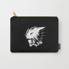 White Anime Hero Character Carry-All Pouch