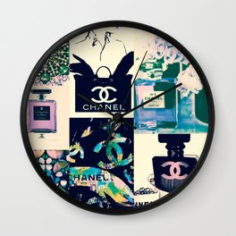 CC No.5 Fashion Collage Wall Clock