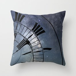 Time Warp, Time and Space, General Relativity. Throw Pillow